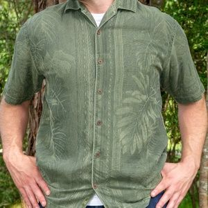 Tommy Bahama Button Down Shirt (green)